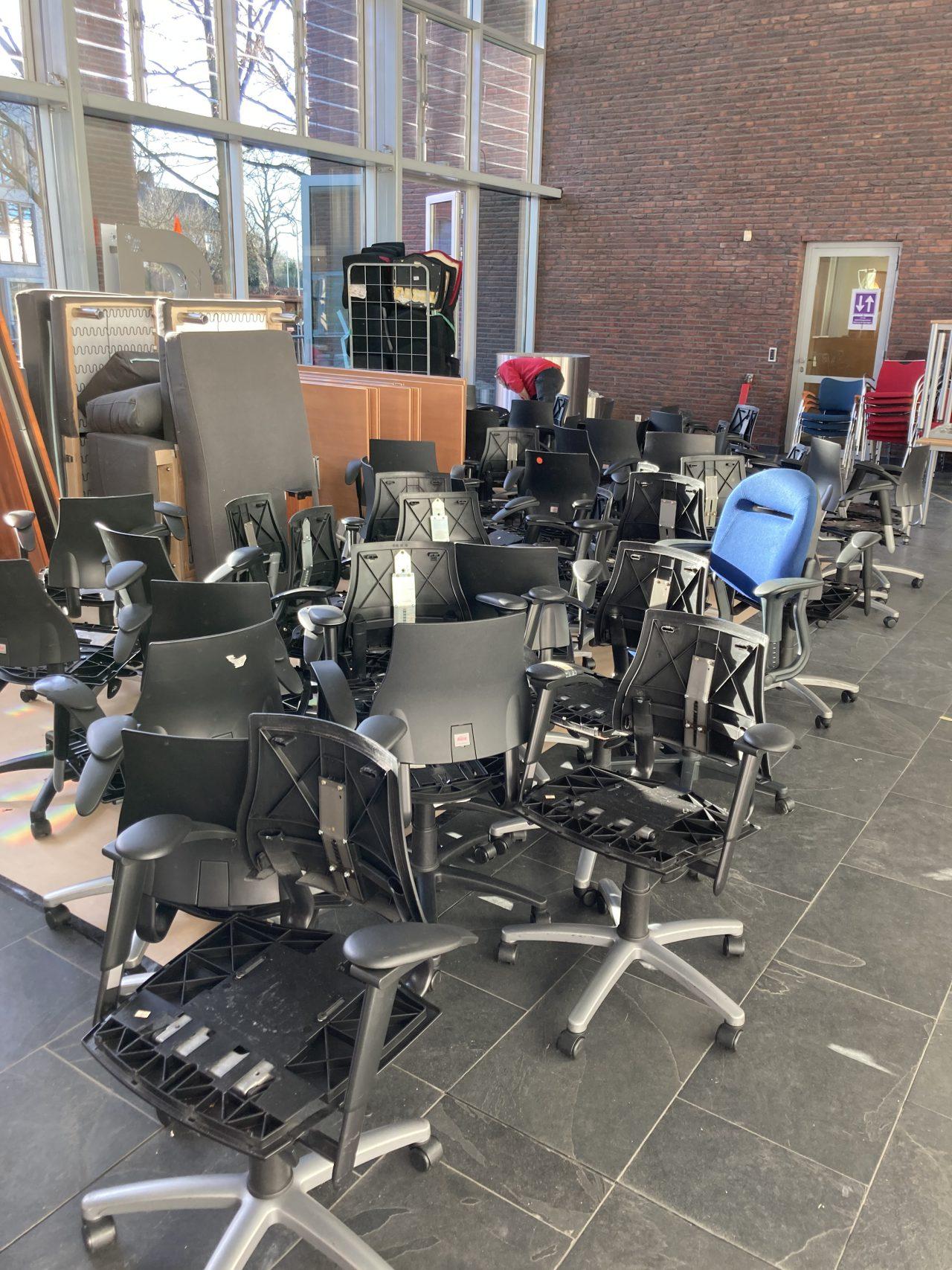 BMA bureaustoelen klaar voor revitalisatie