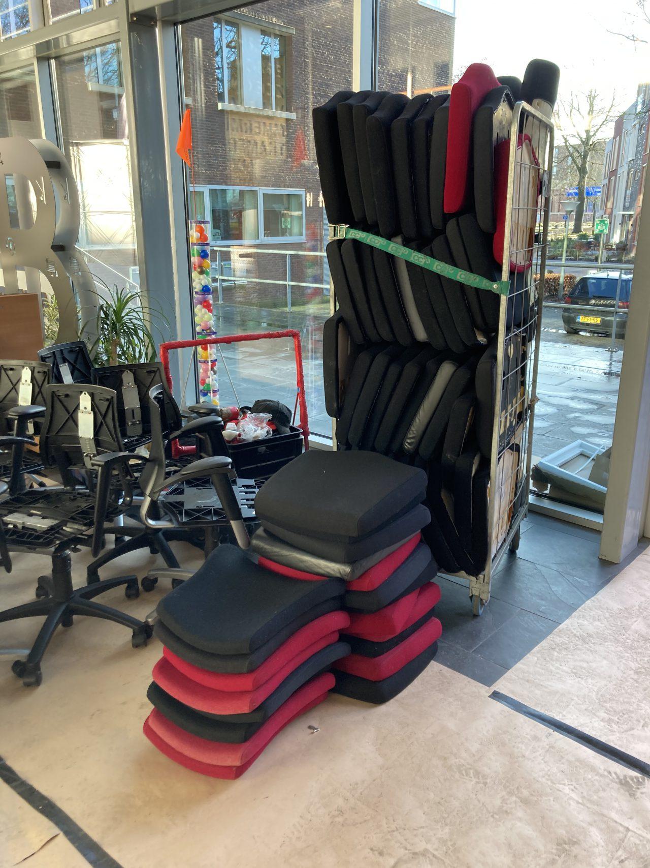 BMA bureaustoelen zit- en rugkussens