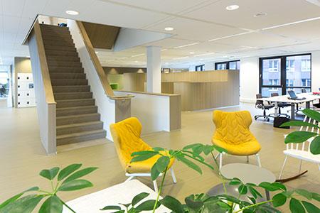 Kantoor projectinrichting Friesland